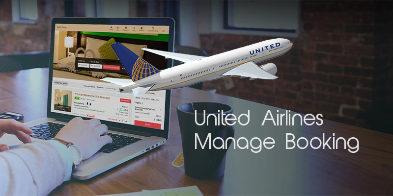 united airlines manage booking