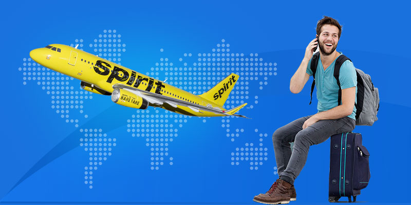 How do I speak to a live person at spirit airlines